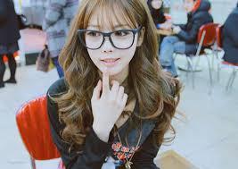 بالصور بنات كوريات كيوت بالنظارات , اجمل بنات لطيفه وكيوت من كوريا 3742 8