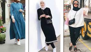 بالصور موضة صيف 2019 للمحجبات , موديلات لملابس المحجبات 3806 1