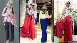 بالصور موضة صيف 2019 للمحجبات , موديلات لملابس المحجبات 3806 10