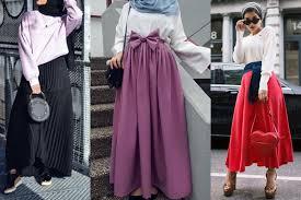 بالصور موضة صيف 2019 للمحجبات , موديلات لملابس المحجبات 3806 12