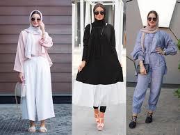 بالصور موضة صيف 2019 للمحجبات , موديلات لملابس المحجبات 3806 16