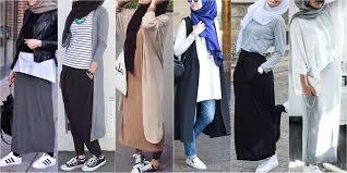 بالصور موضة صيف 2019 للمحجبات , موديلات لملابس المحجبات 3806 3