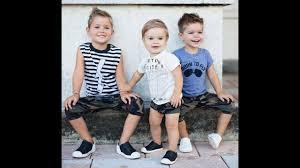بالصور موضة صيف 2019 , ازياء الاولاد في الصيف 3861 11