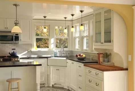 بالصور ديكور المطبخ , مطابخ خشبية بديكورات مودرن 3934 10