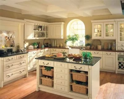 بالصور ديكور المطبخ , مطابخ خشبية بديكورات مودرن 3934 2