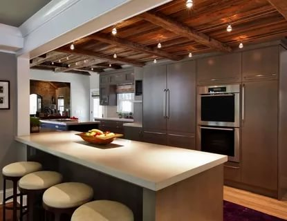 بالصور ديكور المطبخ , مطابخ خشبية بديكورات مودرن 3934 4