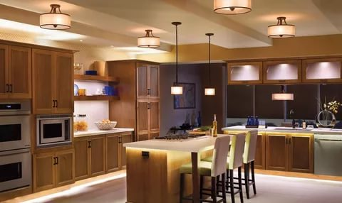 بالصور ديكور المطبخ , مطابخ خشبية بديكورات مودرن 3934 5