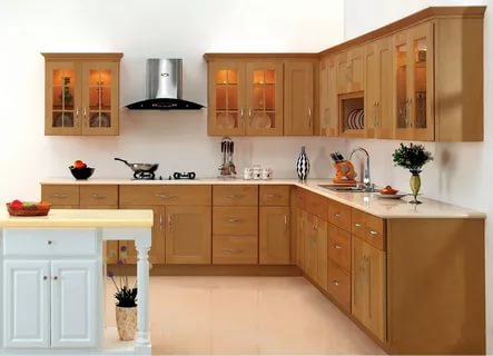 بالصور ديكور المطبخ , مطابخ خشبية بديكورات مودرن 3934 6