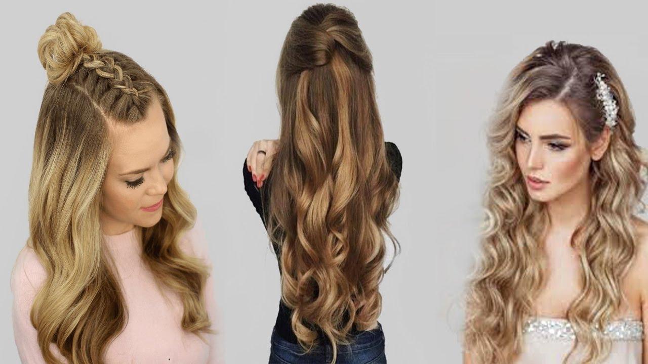 بالصور تسريحات للشعر الطويل بسيطة , الشعر الطويل وتسريحاته 2019 الجميلة 3954 9