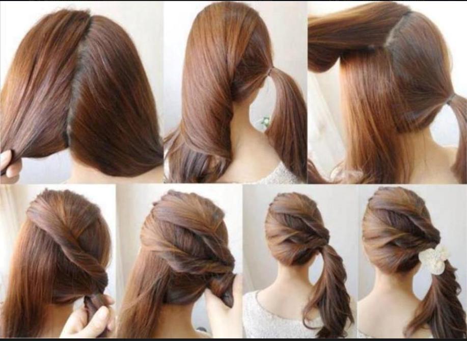 بالصور تسريحات للشعر الطويل بسيطة , الشعر الطويل وتسريحاته 2019 الجميلة 3954