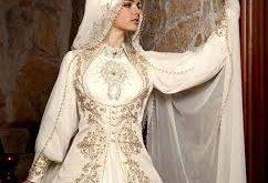 صوره فساتين زفاف للمحجبات , اجمل فستان للعروسة