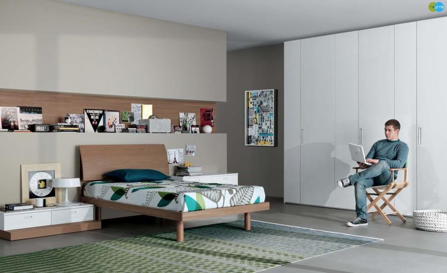 بالصور غرف شباب , ديكورات جميلة لغرف شباب 4163 7