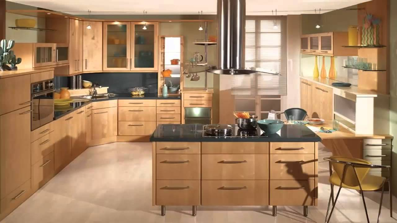 بالصور الوان مطابخ خشب , الوان متنوعة للمطابخ الخشب 4181 1