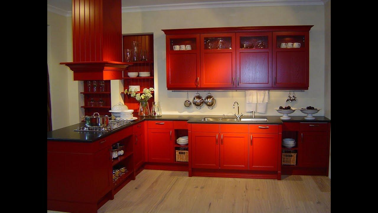 بالصور الوان مطابخ خشب , الوان متنوعة للمطابخ الخشب 4181 10
