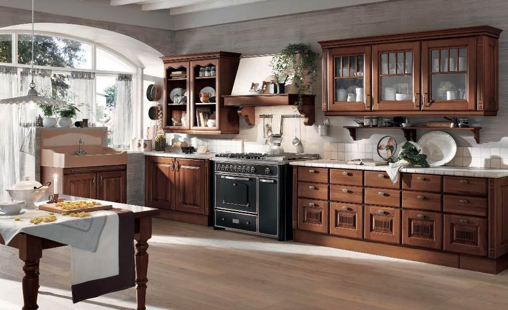 بالصور الوان مطابخ خشب , الوان متنوعة للمطابخ الخشب 4181 4
