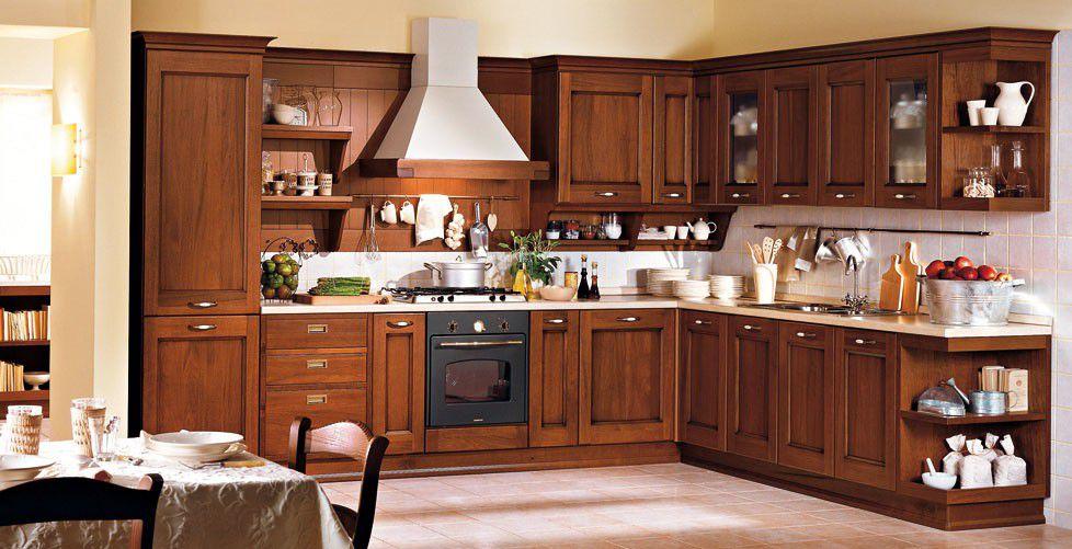 بالصور الوان مطابخ خشب , الوان متنوعة للمطابخ الخشب 4181 6