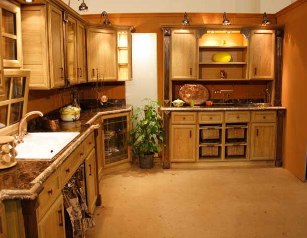 بالصور الوان مطابخ خشب , الوان متنوعة للمطابخ الخشب