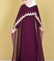 بالصور فساتين سواريه للمحجبات 2019 , اجدد فستان مناسبات 2019 5038 13 181x205