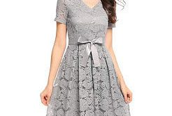بالصور فساتين قصيره دانتيل , الفستان الدانتيل باشكاله 348 15 246x165