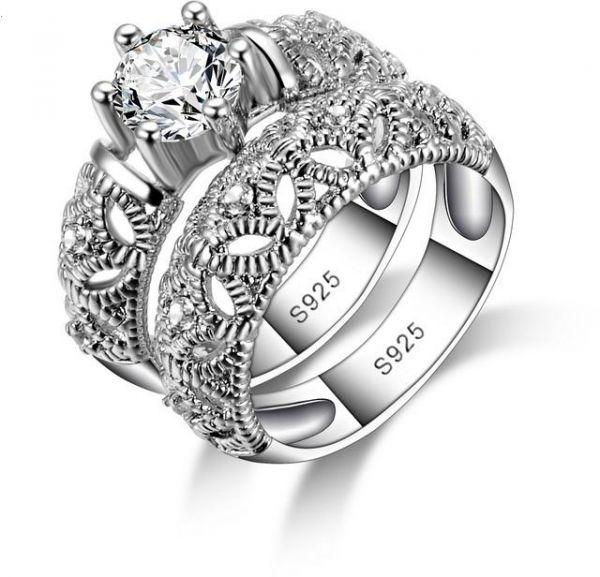 صور اجمل خواتم الفضة , تشكيلة رائعة من روائع الفضة حريمي ورجالي