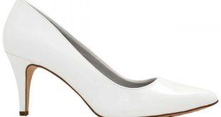 صور احذية كعب عالي ابيض , اجمل موديلات الاحذية البيضاء