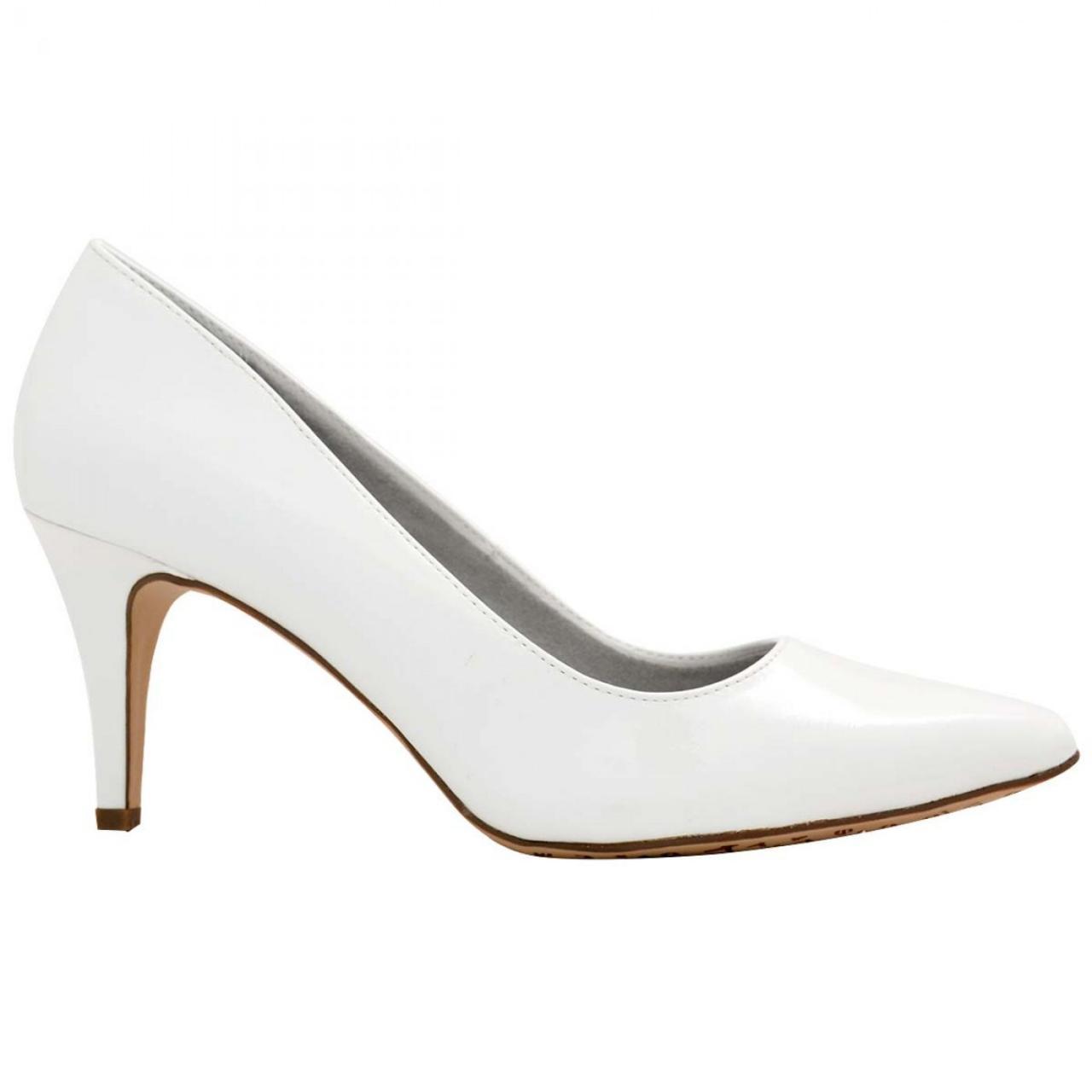 صورة احذية كعب عالي ابيض , اجمل موديلات الاحذية البيضاء