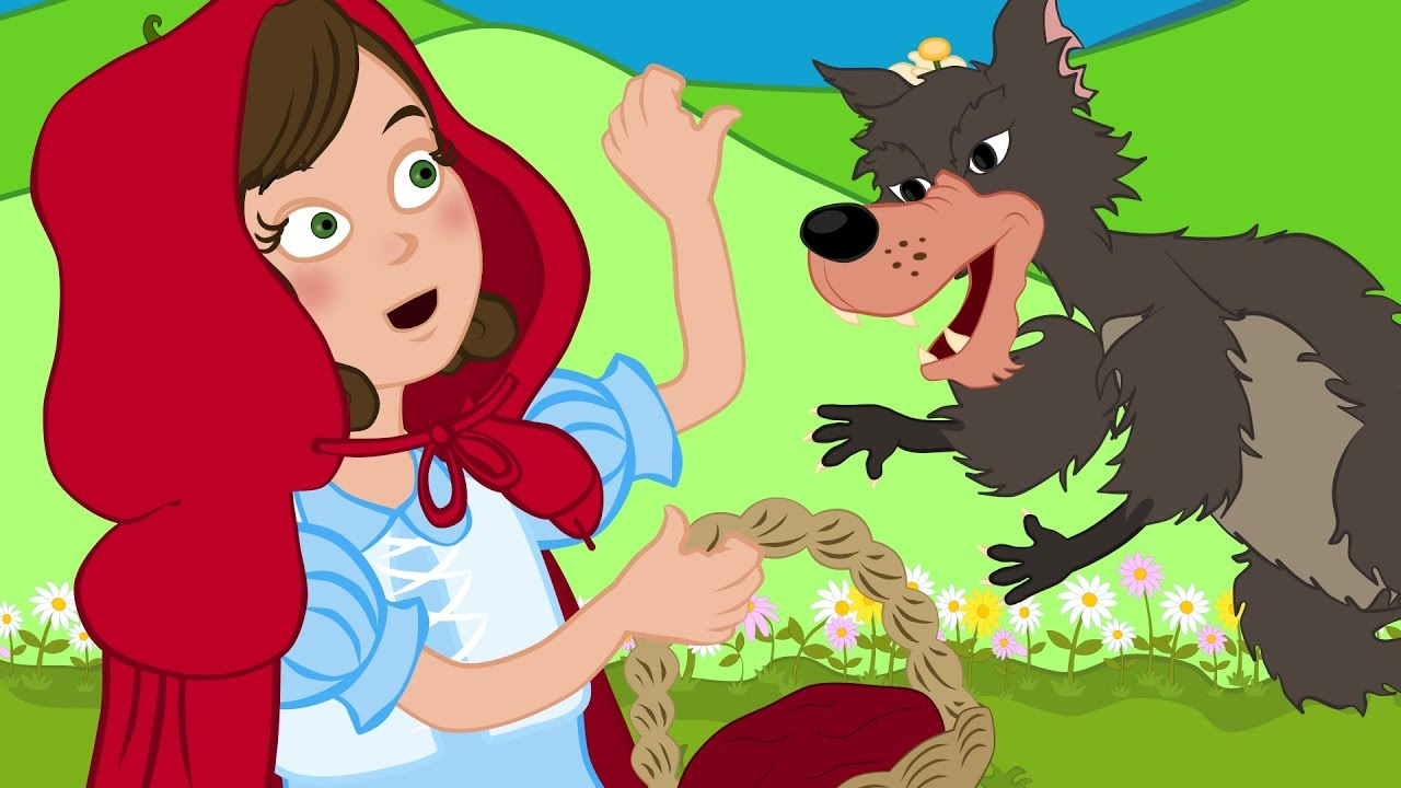 صور قصة ليلى والذئب للاطفال , احلى قصص الاطفال