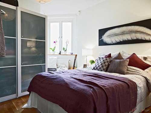 صور غرف نوم صغيرة المساحة , غرفتى صغيرة ماذا افعل