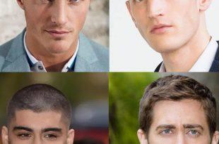 صورة قصات شعر للرجال حسب الوجه , قصة شعر رجالي جميلة