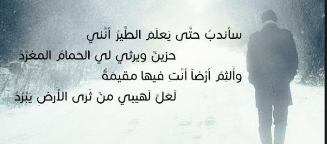 بالصور شعر عن الفراق والوداع بالفصحى , قصائد مؤلمة عن الوداء بالعربية الفصحى 14546