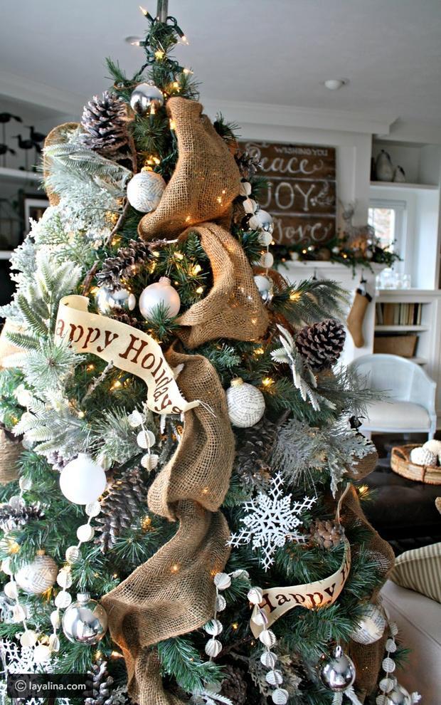 بالصور تزيين شجرة الكريسماس , شكال مختلفة لشجرة الكريسماس 14607 10