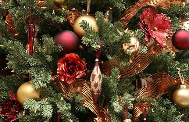 بالصور تزيين شجرة الكريسماس , شكال مختلفة لشجرة الكريسماس 14607 2
