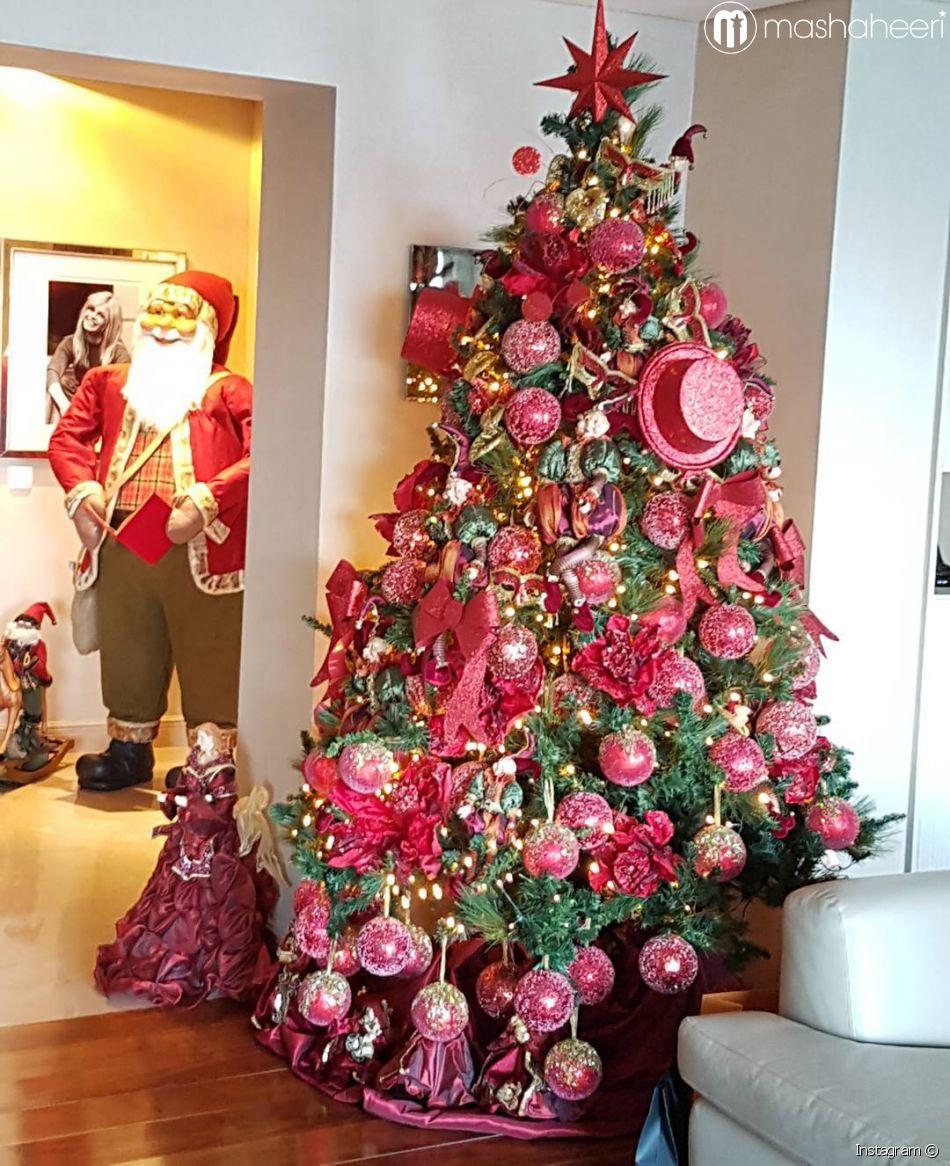 بالصور تزيين شجرة الكريسماس , شكال مختلفة لشجرة الكريسماس 14607 9