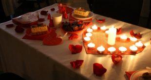 صور عشاء رومانسي , تحضيرات للعشاء الرومانسي