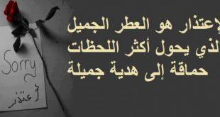 صورة رسالة اعتذار للحبيب الزعلان , مسجات الاعتذار بين الاحبة