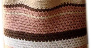 صورة شنطة كروشيه , تشكيلة من ارقي الشنط الكروشية