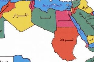 صورة خريطة المغرب العربي , اكثر الخرائط وضوحا للمغرب العربى