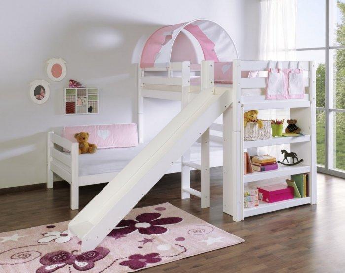 صورة غرف نوم اطفال بنات , ديكورات جذابة لغرفة النوم البناتي