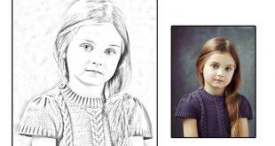 صور تحويل الصور الى رسم , البرامج والفوتو شوب