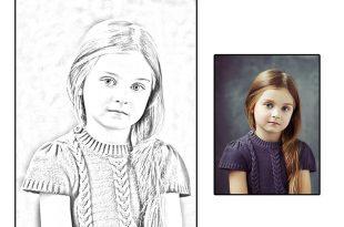 صورة تحويل الصور الى رسم , البرامج والفوتو شوب