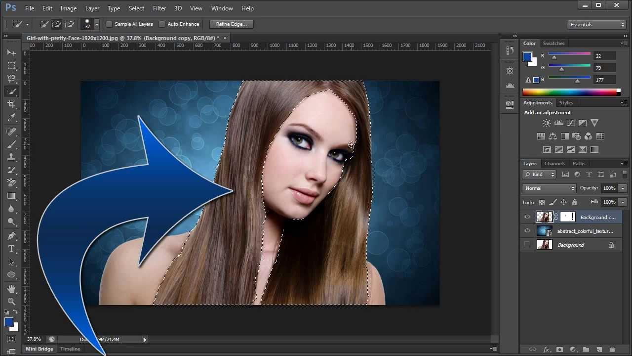 كيفية تغيير خلفية صورة في برنامج الرسام 11 خطوة صور توضيحية