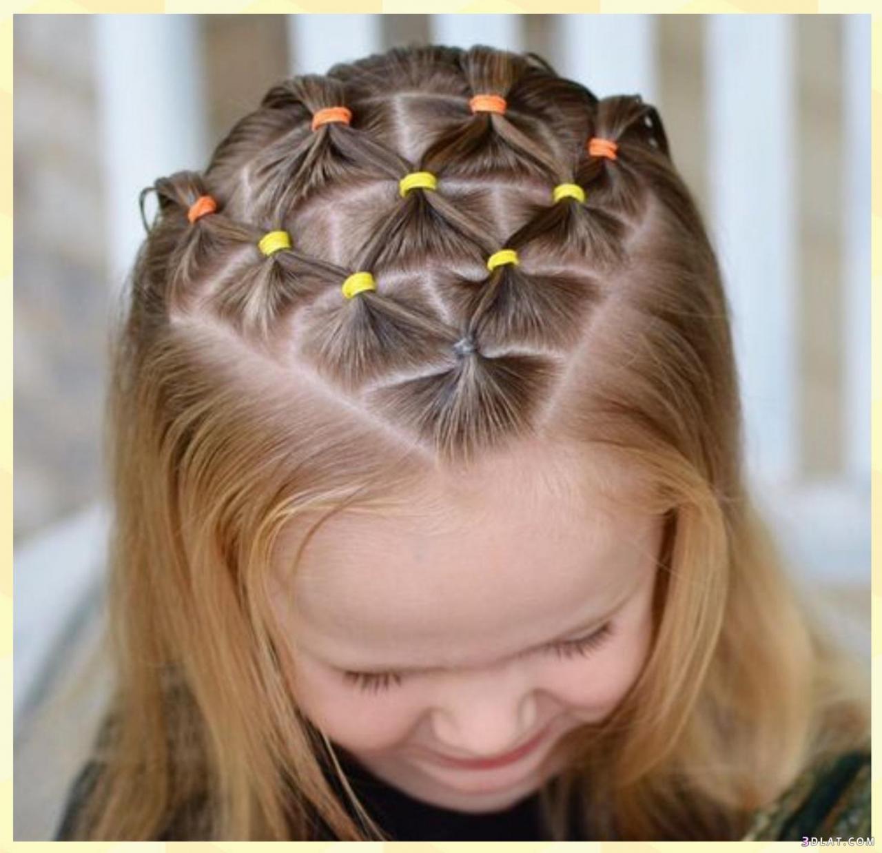 صورة بالصور تسريحات شعر للاطفال , اجمل التسريحات العصرية للاطفال