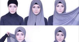 صور صور لفات حجاب , احدث لفات الحجاب