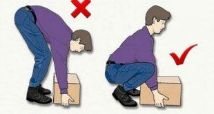 صورة نصائح لعلاج مشاكل العمود الفقري , لا تنحني وحافظ علي ظهرك