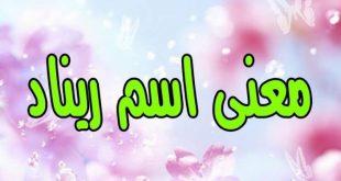 صورة معنى ريناد , اسماء فارسية عميقة المعني