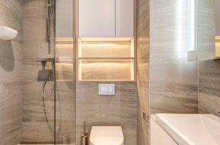 صورة ديكورات حمامات صغيرة جدا وبسيطة, حمامات مودرن حديثة بتصميمات مختلفة
