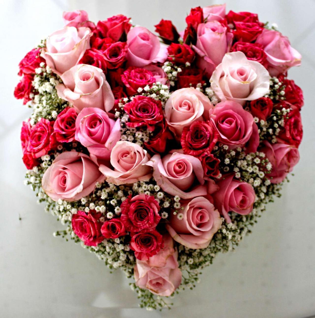 صورة اجمل بوكيه ورد, هدايا عيد الحب