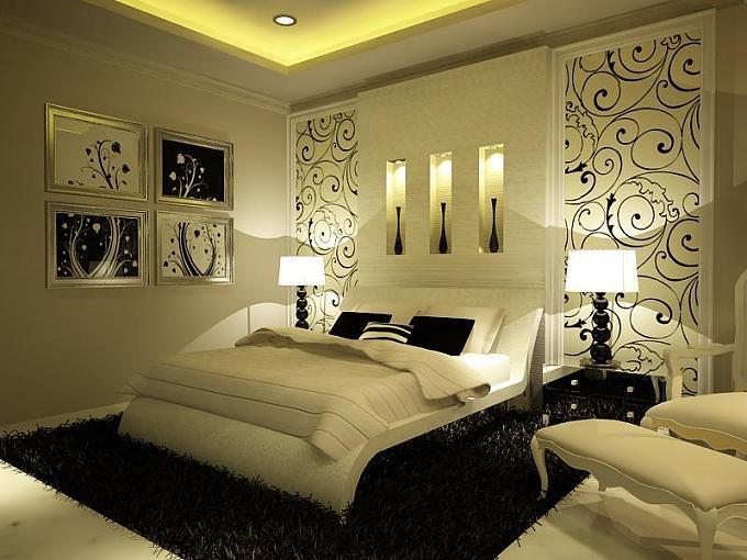 صورة احلى ديكور غرف نوم , اروع تصميمات الديكور العصرية المميزة