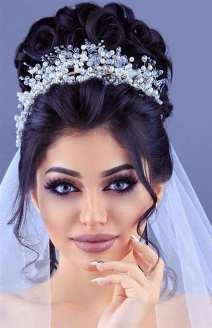 صورة تسريحات شعر عروس , واو اجمل انواع التسريحات العالمية