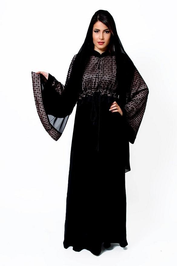 صورة عالم الموضة, عبايات خروج روعة 841 2